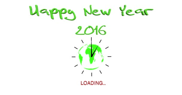 Animation Loading New Year 2016
