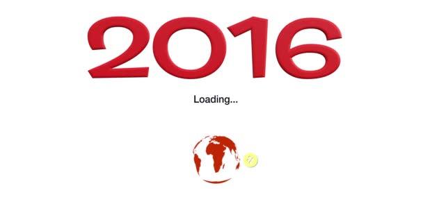 Animace načítání nový rok 2016