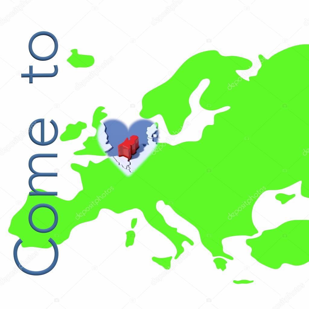 Carte Europe Pays Bas.Venir Aux Pays Bas Avec Carte Europe Photographie Albasu C 84492794