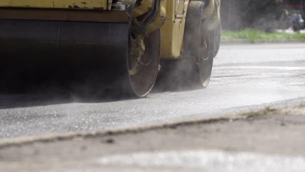 Parní válec sloučení nové asfaltové