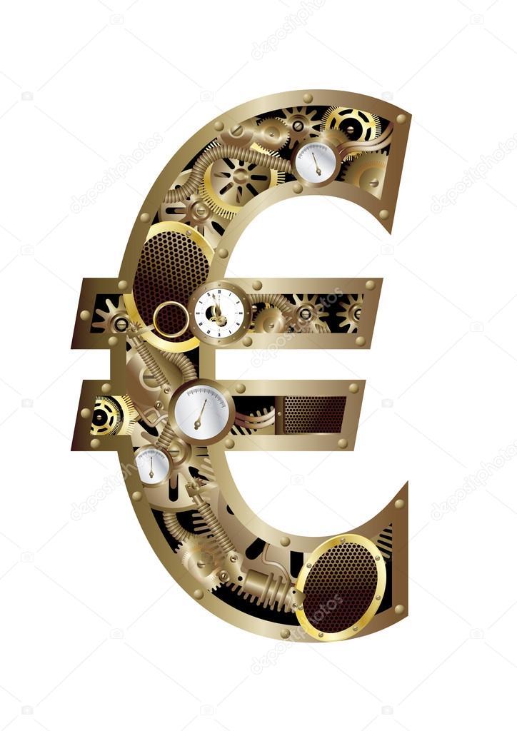 Steampunk euro