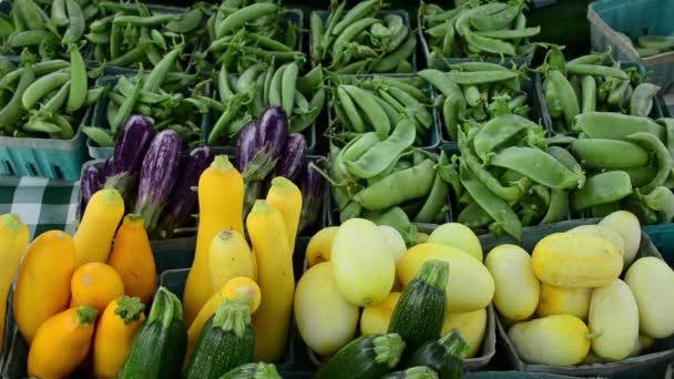 Bauernmarkt Gemüse zum Verkauf