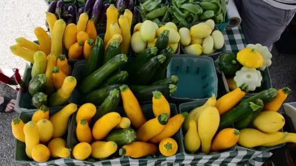 1080p-Bauernmarkt Gemüse zum Verkauf