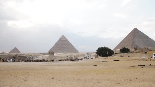 Pyramids of Giza and The Great Sphinx of Giza
