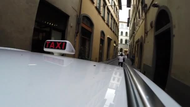 Cesta přes Florencii, Itálie