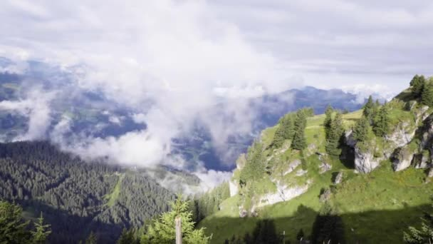 mountains with clouds in Tyrol