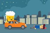 Persone sono morte in crash di guida ubriaco