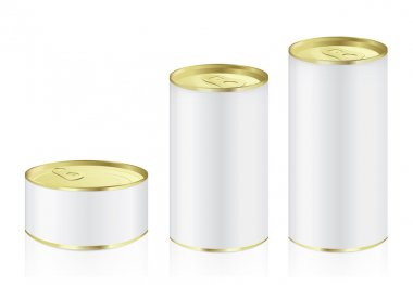 Aluminum can have gold color lid