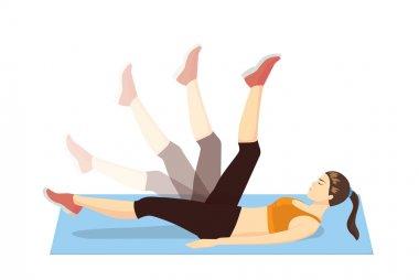 Leg swing exercise