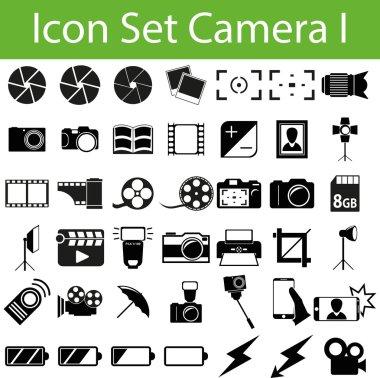 Icon Set Camera I