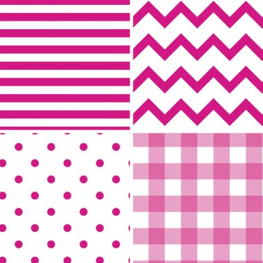 Pattern Collection Vector Seamless Retro Background