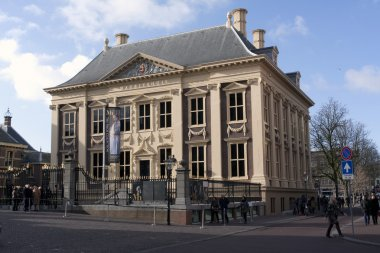 The Mauritshuis entrance view