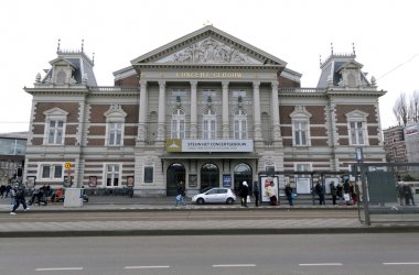 Royal concert building in Amsterdam