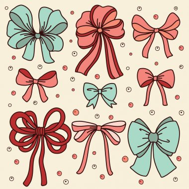 Cute set with bows