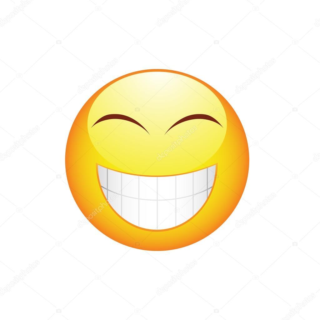 Immagini Sorriso Denti Emoticon Di Sorriso Con Denti