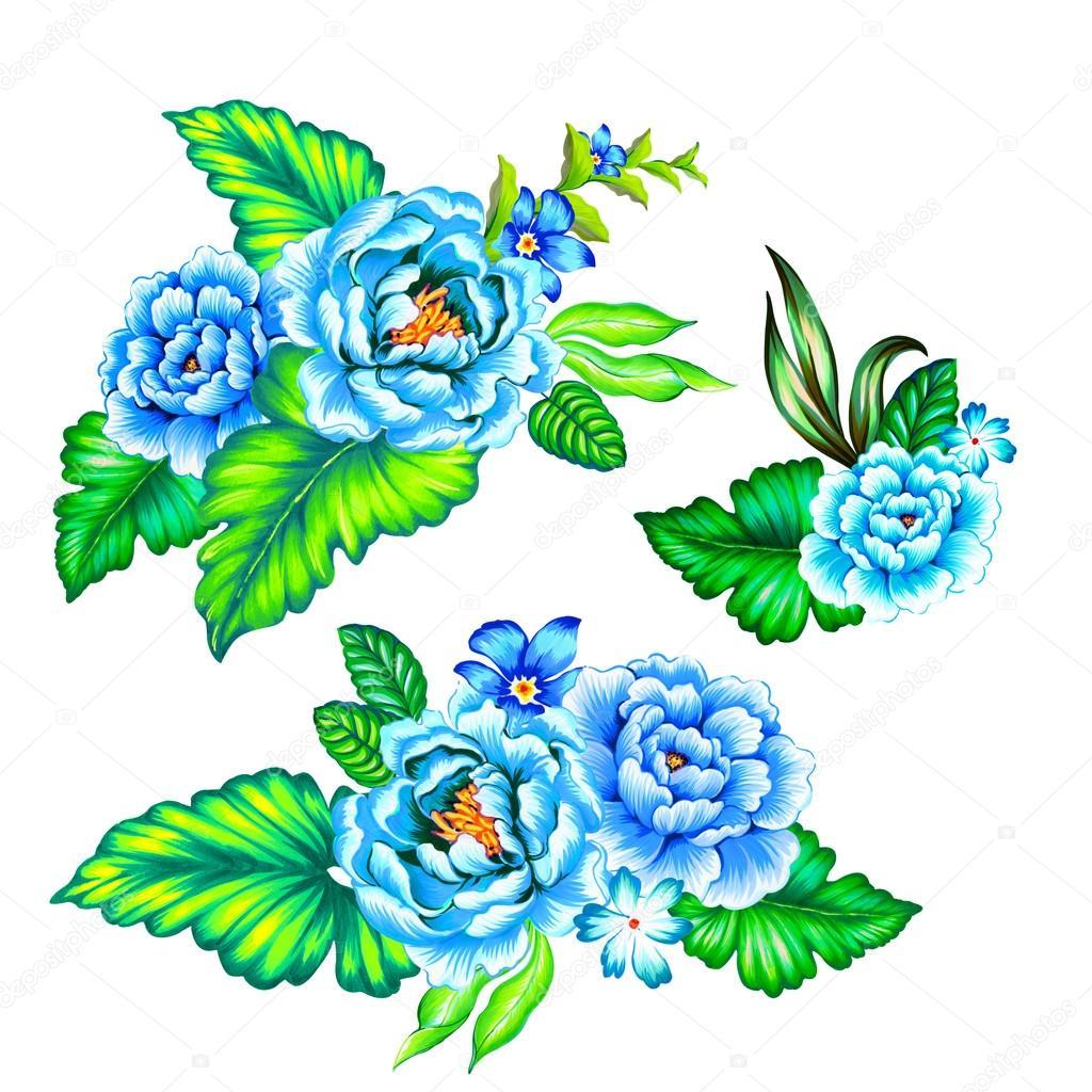 Ramo De Flores Mexicanas Foto De Stock Rosapompelmo