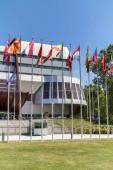 Štrasburk, Francie: Budování Paláce Evropy ve Štrasburku, Francie. Budova hostí Parlamentní shromáždění Rady Evropy od roku 1977