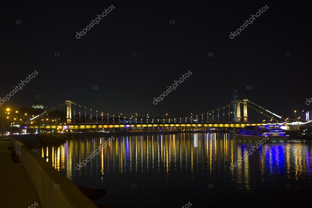 Ponte di crimea in mosca russia foto stock maxim4e4ek for Piani di progettazione di ponti gratuiti