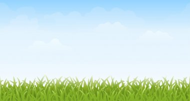 Seamless Grass and Sky