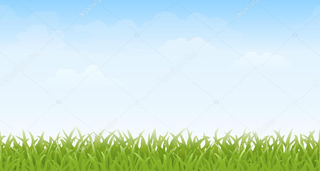 Seamless Grass and Sky