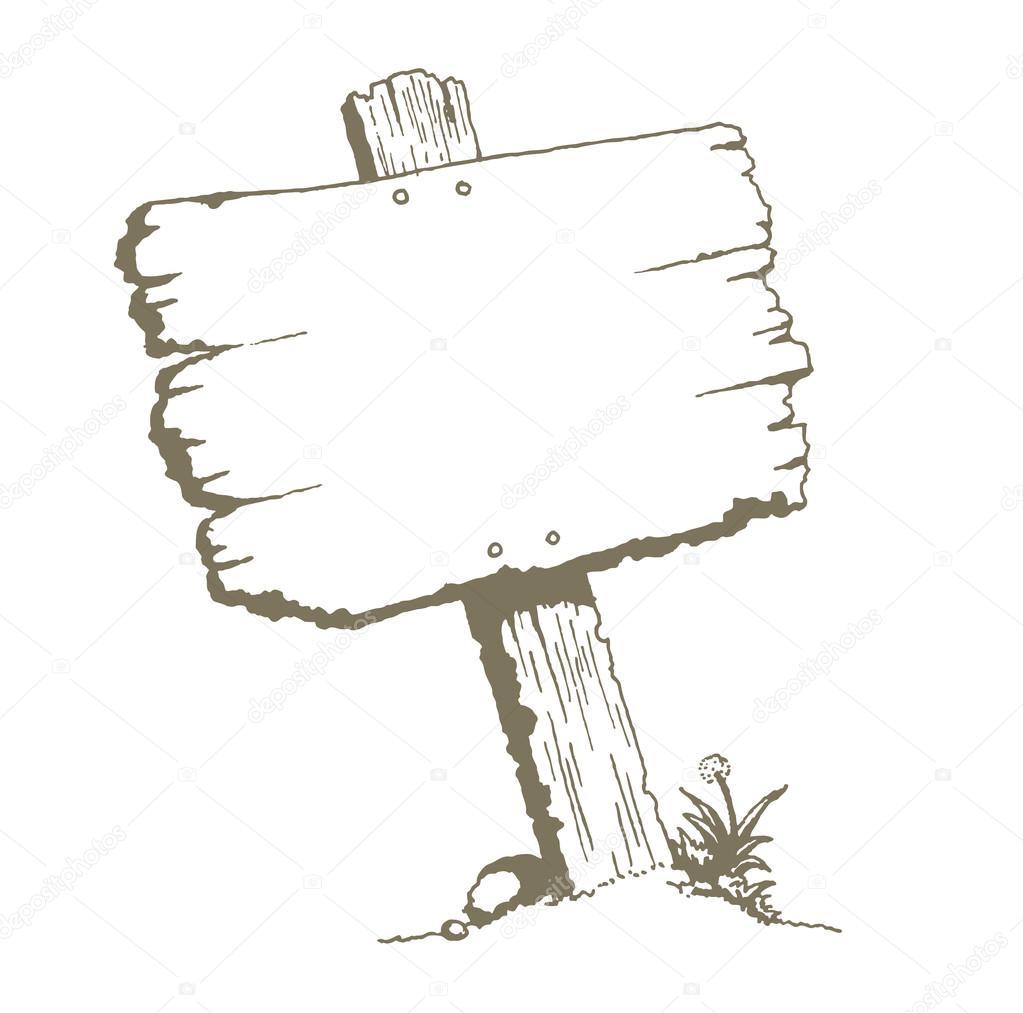 panneau de bois vierge image vectorielle luseen 64909595. Black Bedroom Furniture Sets. Home Design Ideas