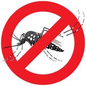 Příroda, Aedes aegypti komáry na chůdách s zakázané přihlásit. Ideální pro informační a institucionální související hygieny a péče o