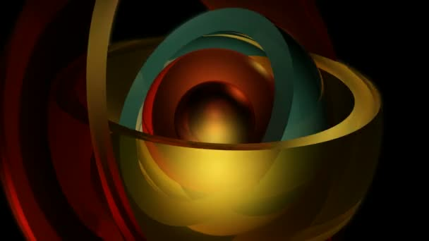 Colorful glossy sphere