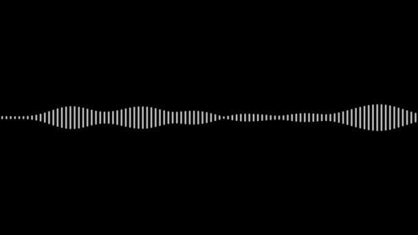 Mozgó digitális audio wave