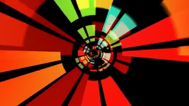 Abstraktní barevné paprsky
