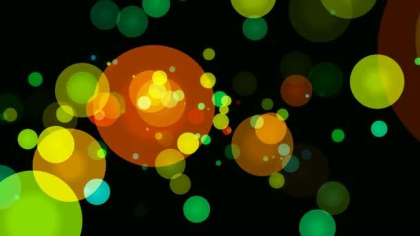 Pohyblivé barevné záblesky