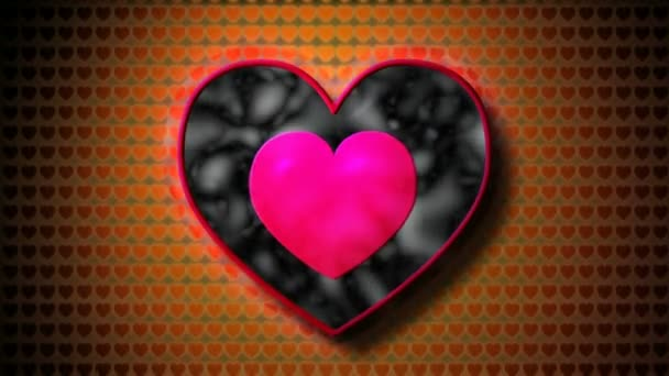 Colorful heart symbol