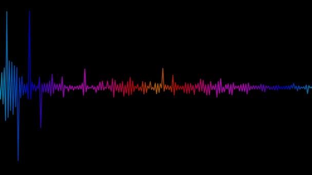 Bewegendes buntes Tonspektrum