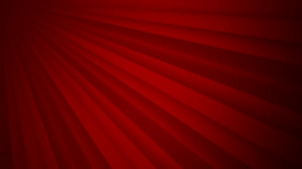 Abstract soft red rays