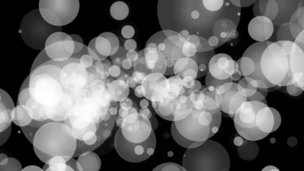 White particle burst