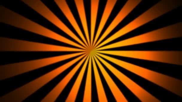 Abstraktní hypnotizovat oranžové paprsky