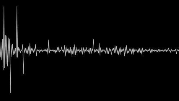 bewegliches weißes Audio-Spektrum