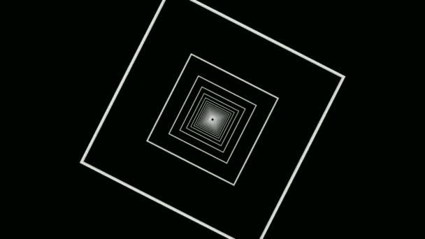 Mozgó négyzet alakú keretek alagút