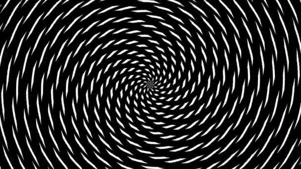 abstrakter hypnotischer Hintergrund