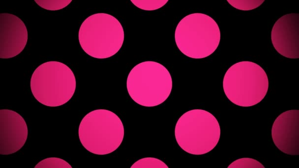 Pohyblivé růžové kruhy