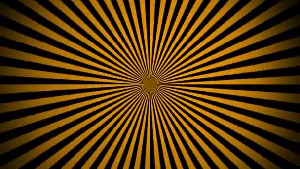 Pruhy, pohybující se v kruhu