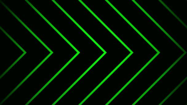 Moving corner stripes