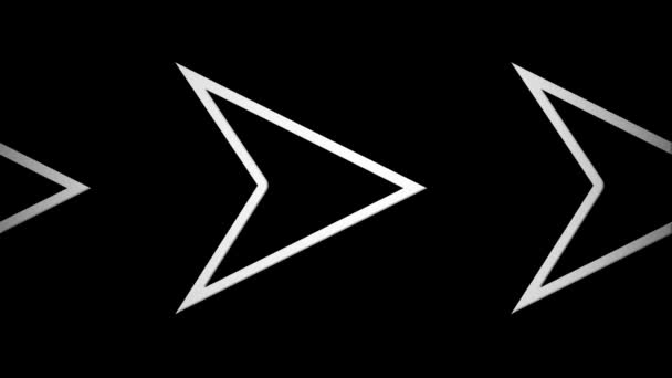 Moving arrow icons