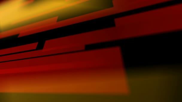Pohyblivé barevné vodorovné čáry