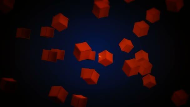 Pohybující se červená krabice