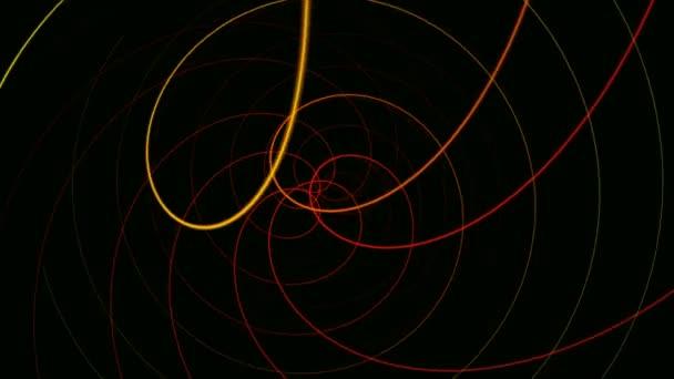 Barevný hypnotický vlnovky