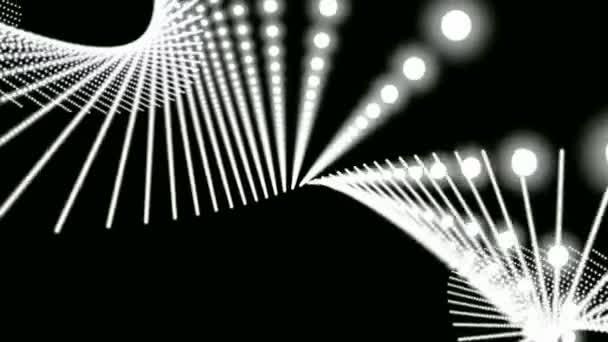 Absztrakt mozgás hullámos grafikai elemek