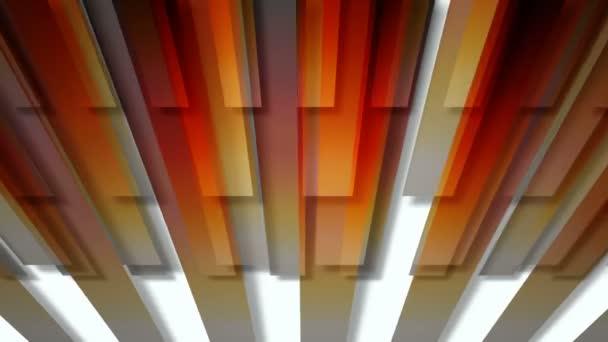 Pohybující se barevné prkna
