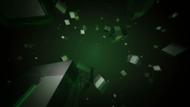 Stěhování zelenou kostky