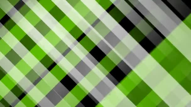 Zelené a černé pruhy překřížené