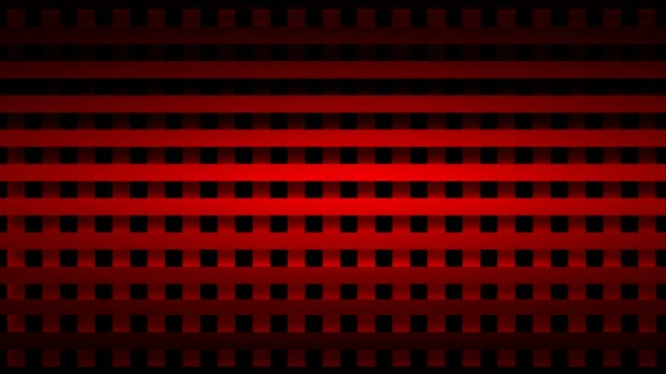 Moving red grid